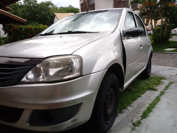 **r$ 12.500,00** Renault Logan 1.0 Flex Authentique - 2012