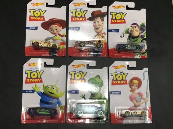 Hot Wheels - Toy Story - Conjunto Com 6 Carrinhos