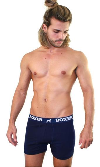 Boxer Original Underwear - Algodón Lycra Premium - Surtidos A Eleccion - Pack X 4