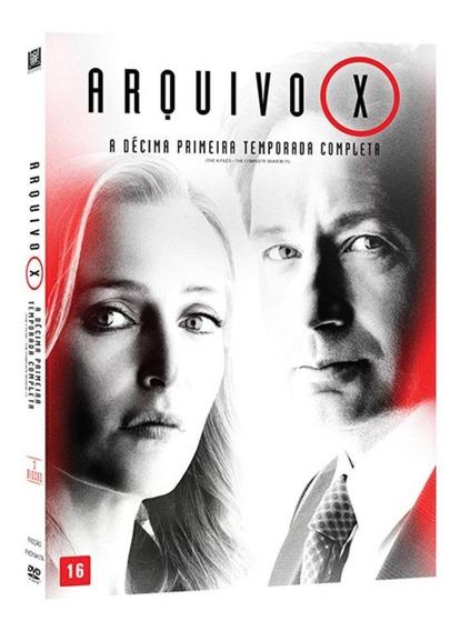 Box Original : Arquivo X - 11ª Temporada - Lacrado - 3 Dvds