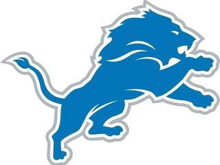 Adesivo Detroit Lions Futebol Americano - Nfl