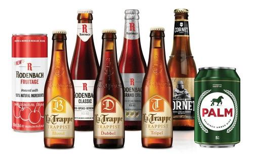 8 Pack De Cervezas Holandesas Y Bélgas Swinkels F. Brewers.