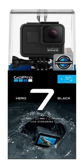 Gopro Hero 7 Black Chdhx-701-lw Original Lacrada