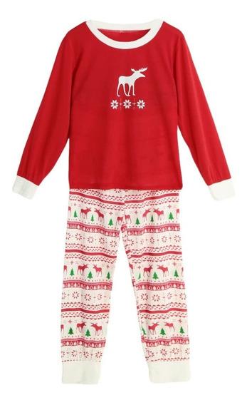 Conjunto De Pijama De 2 Piezas Nuevo Navide?o P/mujer