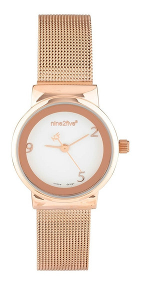 Reloj Nine2five Para Dama Afw19o15rgbls1 Oro Rosa