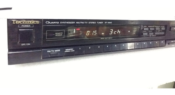 Technics Am/fm/tv Stereo Tuner ( Made In Japan )