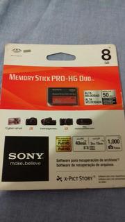 Cartão De Memoria Pro Duo 8 Gb Para Maquina Digitalsony Psp