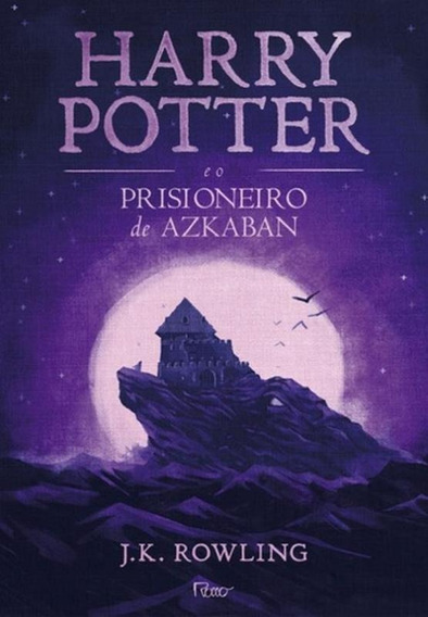 Harry Potter E O Prisioneiro De Azkaban-capa Nova