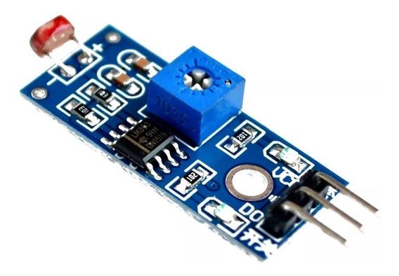 Sensor Ldr Luz Digital Arduino Pic Raspberry