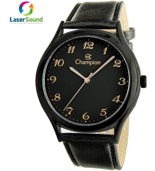 Relógio Champion Masculino Cn20024n C/ Garantia E Nf