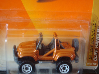 Mini Jeep Cliff Hanger Desert Endurance Da Matchbox