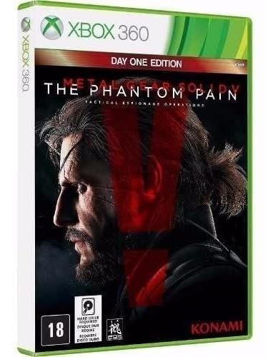 Metal Gear V The Phantom Pain - Jogo Para Xbox 360 Original
