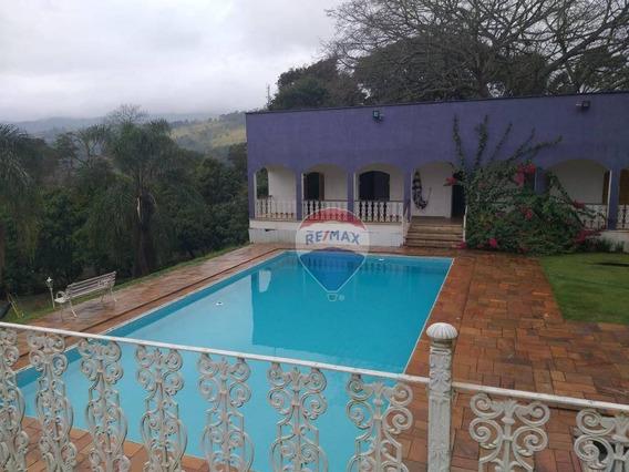 Chácara Com 16 Dormitórios Para Alugar, 4529 M² Por R$ 10.000,00/mês - Portão - Atibaia/sp - Ch0336
