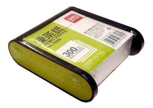 Imagen 1 de 3 de Portataco Con Cubo De Papel Blanco | Deli | #7606