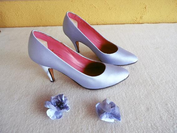 Antigo Sapato Sissi Para Festa Na Caixa Original Nº 37
