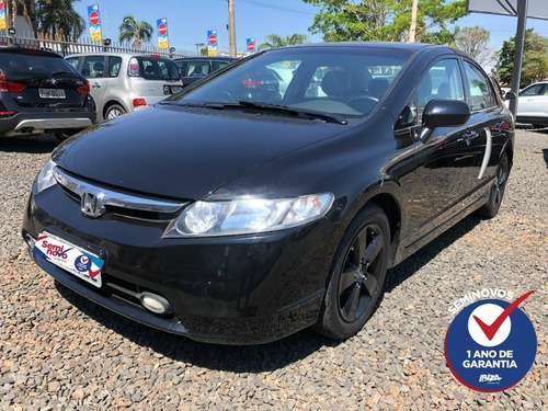 Honda Civic 1.8 Lxs Flex Automático