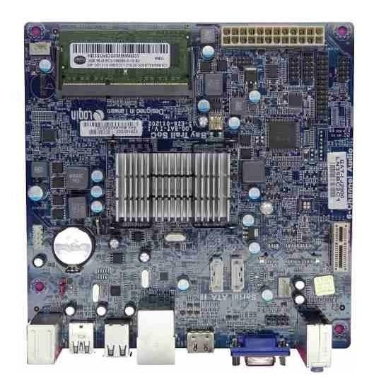 Placa Mãe Desktop Ecs Ddr3 Bat-i2 (15-kb3-011000) J1750 Pino