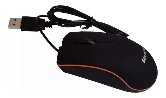 Mouse Usb Optico Alambrico Marca Lenovo M20, Somos Tienda!!