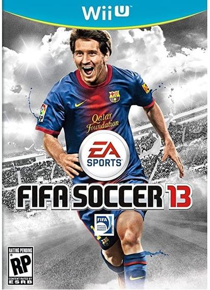 Game Fifa Soccer 13 Wii U Original Novo Lacrado Físico