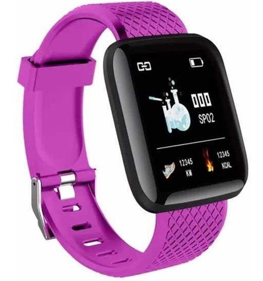 Fralugio Smart Watch Compatible iPhone 7 Notificaciones Hr