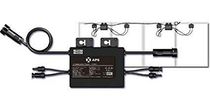 Microinversor Aps Yc500-mx-220 Interconeccion Cfe 2 Paneles