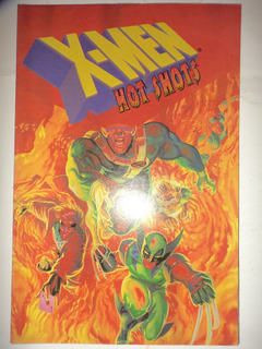 X Men Hot Shots Em Ingles Com Poster Central Frete Gratis