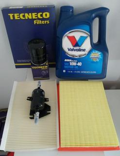 Kit 4 Filtros + Aceite Semisintético Palio Siena 1.3 14 Fire