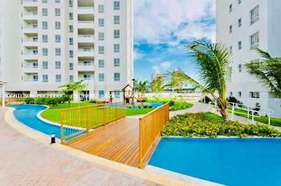 Apartamento Para Venda Em Natal, Neópolis - L`acqua Condominio Club, 3 Dormitórios, 1 Suíte, 2 Banheiros, 1 Vaga - Ap1105-lacqua 72m