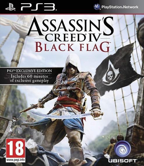 Jogo Assassins Creed Iv - Black Flag (usado) Ps3