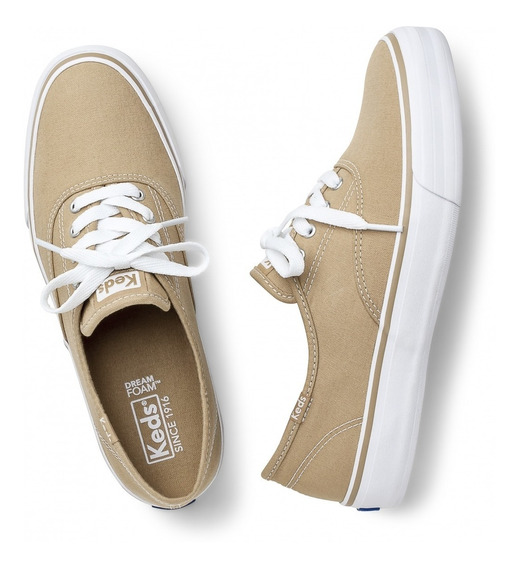 Tênis Keds Double Dutch Canvas Liso Feminino Original