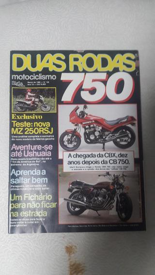 Revista Duas Rodas Nº 129 - Março/1986