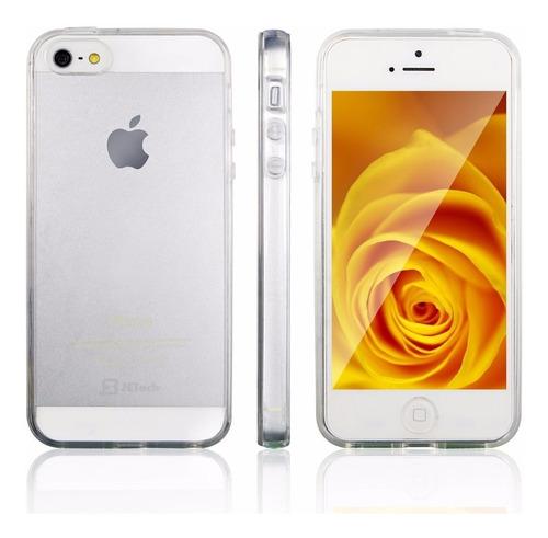 Carcasa iPhone 5 5s Se Flexigel Estuche Transparente Origina