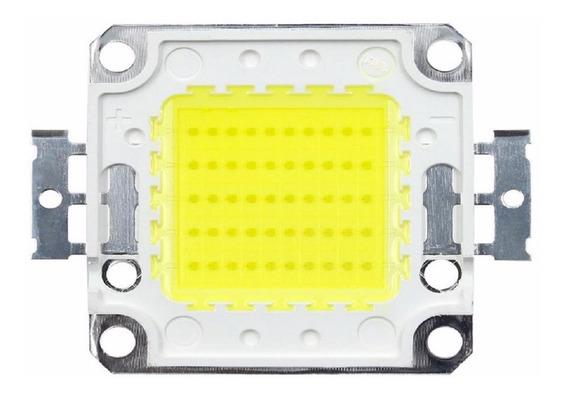Chip Led 100w 30-36v Premium 15grs P/ Refletor +01 Pasta T