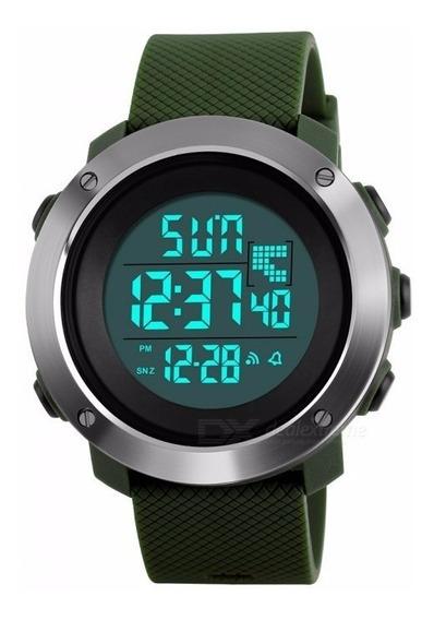 Relógio Masculino Skmei 1418 Bússula Cronômetro Regressivo