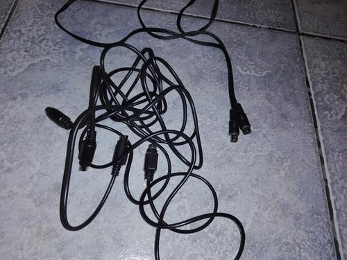2 Cables De S-video Super Video 4 Pines Macho 2 Mts