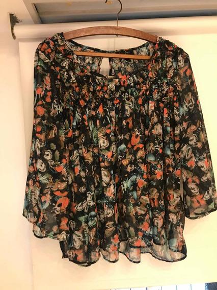 Camisa Mujer Jessica Simpson Talle Médium Amplio Transparent