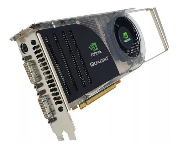 Placa De Vídeo Nvidia Quadro Fx 4600 768mb Gddr3 384bit
