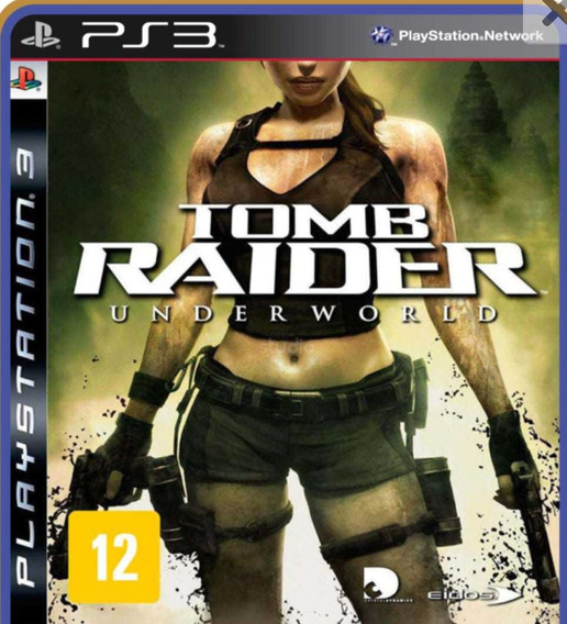 Tomb Raider Underworld Ps3 Jogo