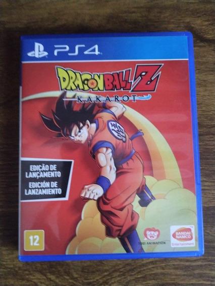 Jogo Dragon Ball Z Kakarot Ps4