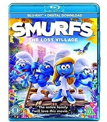 Smurfs The Lost Village / Pitufos La Villa Perdida Blu Ray