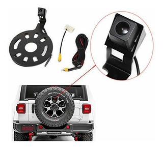 Redwolf Jeep Spare Tire Mount Rear View Backup Camera For Je