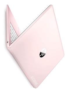 Notebook Hp Amd A4 9120e / 4gb + 64gb Emmc / Win 10 Pink