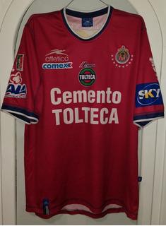 Jersey Chivas Guadalajara 3er Uniforme Año 2002 Atletica Xl
