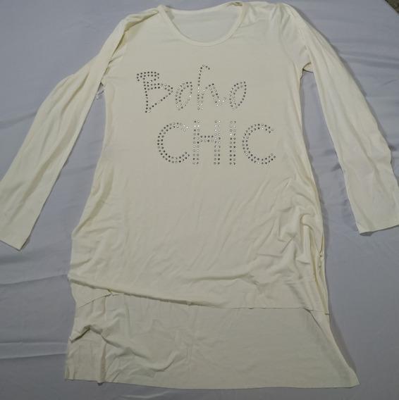 Camisetas Nelli Fashion- Manga Longa-laço Cinza/creme/bordo