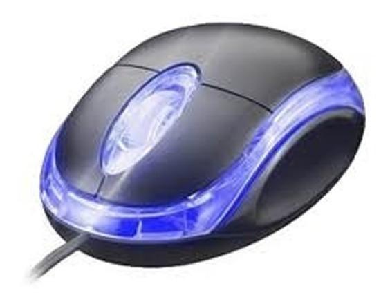 Kit 10 Mini Mouse Optico Fio Usb Barato Lote Revenda Atacado