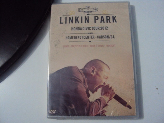 Dvd Linkin Park Honda Civic Tour 2012 Lacrado E5b4