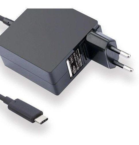 Fonte Carregador Usb-c Type-c Para Dell Venue 8 Pro 5855 812