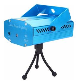 Mini Laser Stage Lighting Projetor Holográfico Luz De Festa