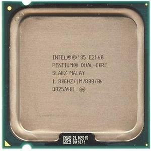Procesador 775 Cpu Intel E2160 Dualcore 1.80 / 1m / 800