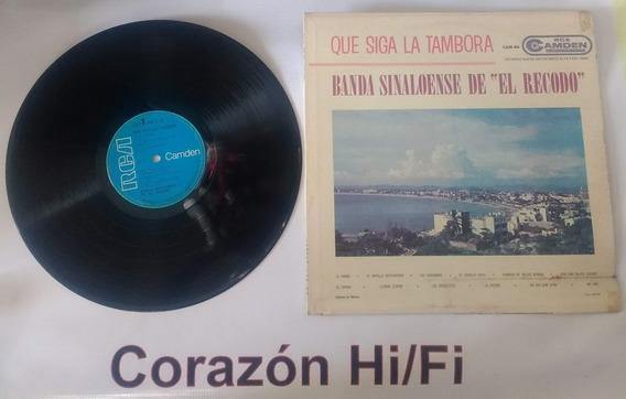 Lp Banda Sinaloense El Recodo Que Siga La Tambora